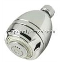 Chrome Water Saving Shower Head