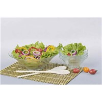 Glass Salad Set