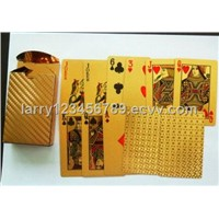 Gold Playing Card