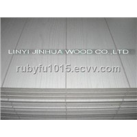 Grooved Paper Overlay MDF