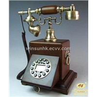 Wooden Antique Phone