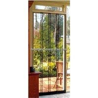 Rapid-Up Removable Screen Door
