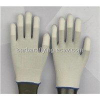 13g Carbon Fibre / Conductive Fibre PU Finger Gloves
