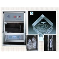 2D/3D Crystal Engraving Machine