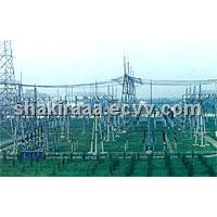 35-500kV Substation Structures and Frames, Diameter Steel Pipe, Polygonal Steel Pole and Thin-Walled
