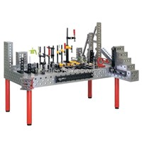 3D Modular Welding Table System