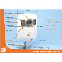 3G WCDMA Surveillance Wireless Video Camera / Surveillance Camera