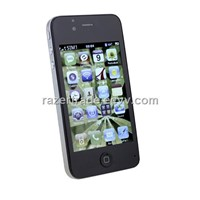 4GS WIFI Dual Sim Card Dual Camera Quad Band WIFI 3.5 Inch Touch Screen