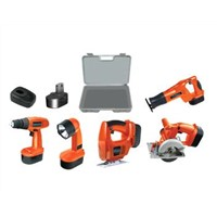 (5-in 1 B) Cordless Power Tools Combo Kits