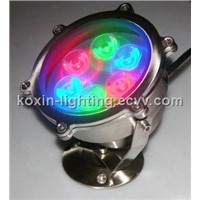6W High Power LED Underwater Lamp