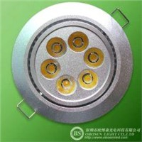6W LED Downlight Cabinet Light,Warm White