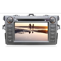 "7""Digital Touch Screen DVD Player with USB/SD/TV/AM/BT/IPOD"