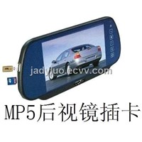 7 Inch Car Rearview Mirror Monitor with MP5