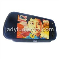 7 Inch Car Rearview Mirror Monitor with Bluetooth