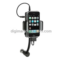 Car Charger+Holder+FM Transmitter for iPhone/iPhone 3G