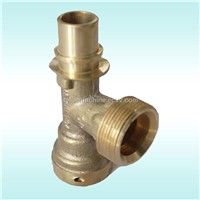 Copper Pipe Fitting with Different Size Tee Head