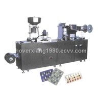 DPP-250F Type Flat-Plate Al-Plastic (AL/AL) Blister Packing Machine