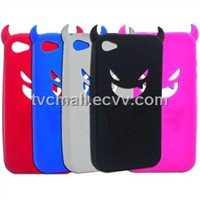 Demon iPhone Silicone Case 4G Horns Cover