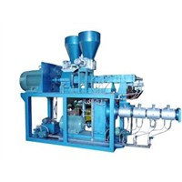 Double-Rotor Continuous Mixer