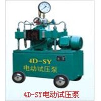 Electric Hydraulic Test Pump (4D-SY6.3-80MPa)