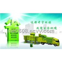 Enclosed Garbage Compression Equipment