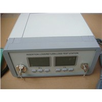Fiber Optic Insertion Loss and Return Loss Test Machine