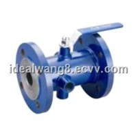Flange End Keep Warm Fully Welded Ball Valve