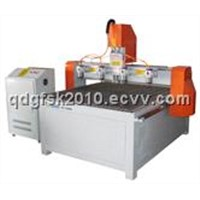 Four Heads CNC Woodworking Router