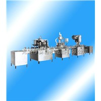 GFP Fission-Type Automatic Small Bottle Mineral Drinking Water Filling Line