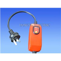 In-line RCD Plug