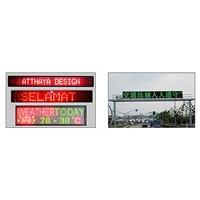 LED Moving/Traffic Sign Display Screen