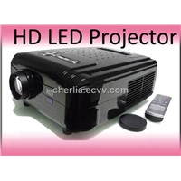 LED Projector with HDMI
