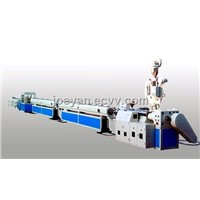 PPR, PE Material Pipe Production Line