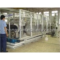 PVC DW Corrugated Pipe Making Machinery