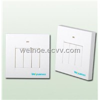 RF 3-Way Wireless Flat Switch
