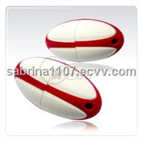 Rugby Ball USB Flash Drive