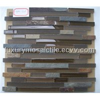 Slate Mixed Glass Mosaic