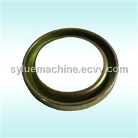 Stainless Steel Circular Ring with Groove