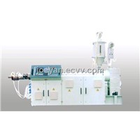 The SJS Twin Conical Screw Extruder