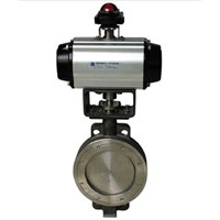 WCB Eccentric Butterfly Valve