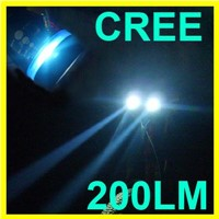 Zoomable Adjustable 3 Mode CREE LED Q5 Aluminum Flashlight Torch 220 Lumen