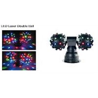 LED Laser Double Ball / Stage Laser Lighting