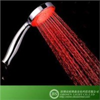 Red Color LED Shower Head