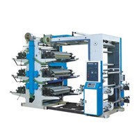 Six Color Flexible Printing Machine