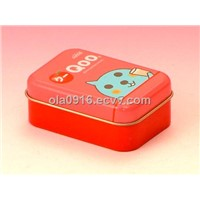 Small Rectangle Tin Box