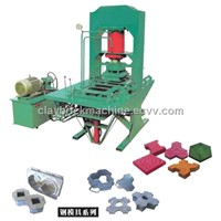 Color Brick Making Machine