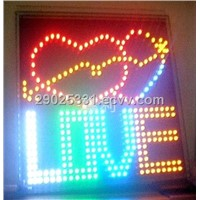 LED DIY Sign Board (24 X 24 cm)
