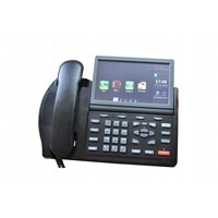 Multimedia VoIP PSTN Phone SC-6030MP with PSTN Port