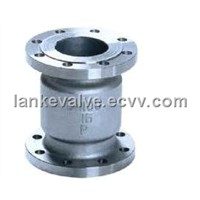 Flanged Vertical Check Valve