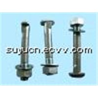 Rail Bolts with Nut